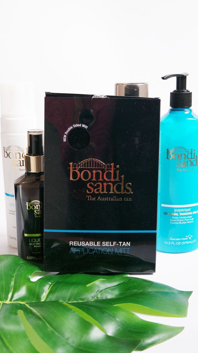 bondi sands self tanning application mitt