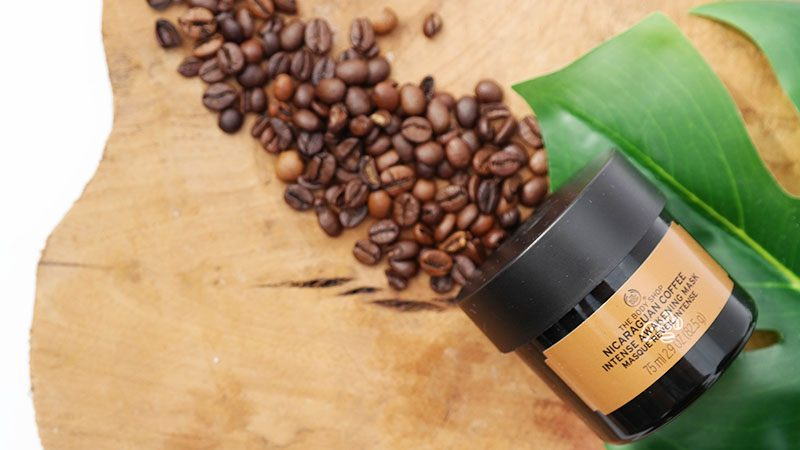 The Body Shop Nicaraguan Coffee Intense Awakening Mask review