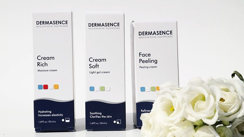 dermasence face peeling cream oft cream rich