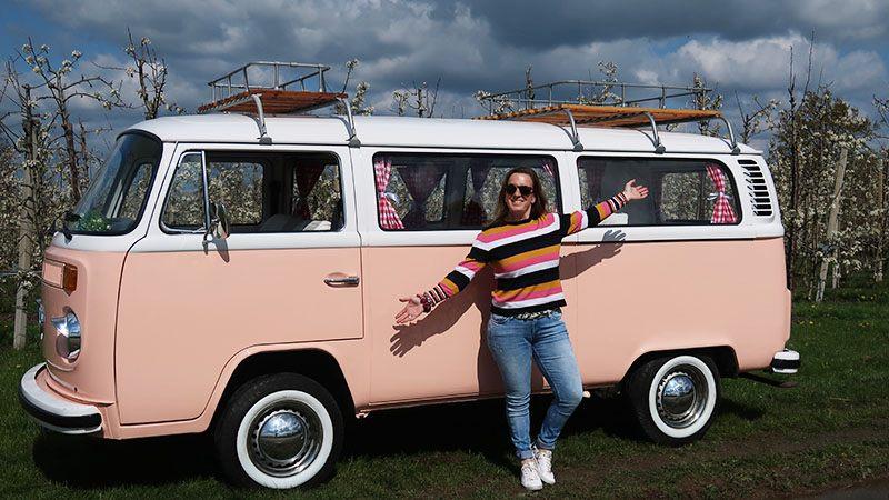 volkswagenbus miss peach