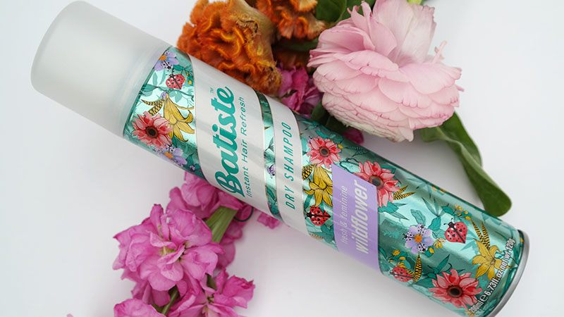 batiste dryshampoo wildflower