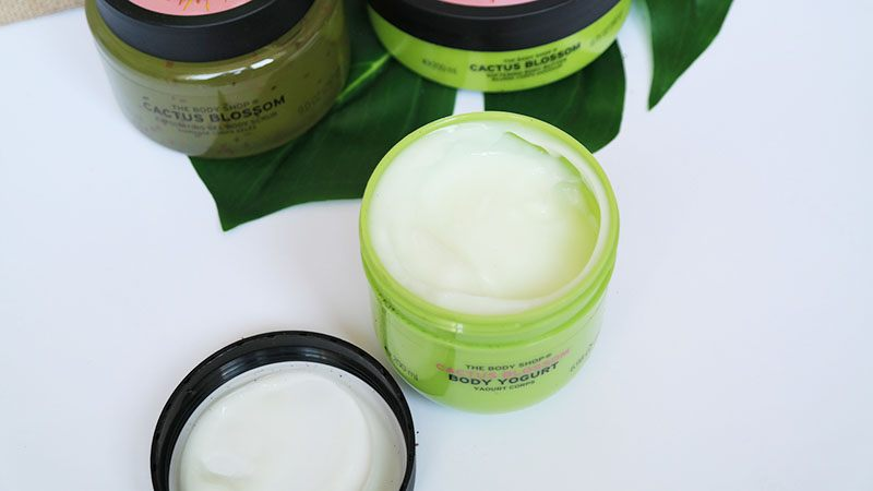 the body shop cactus blossom body yogurt