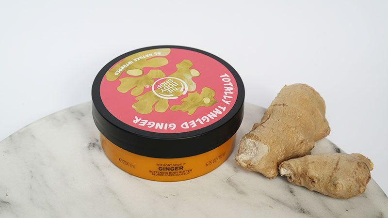 the body shop special edition ginger body butter review