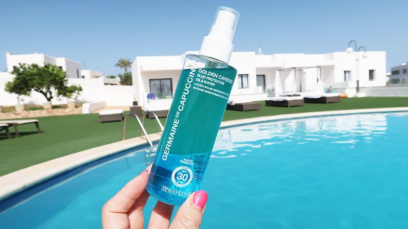 GermainedeCapuccini blue protective oil & Water spf 30
