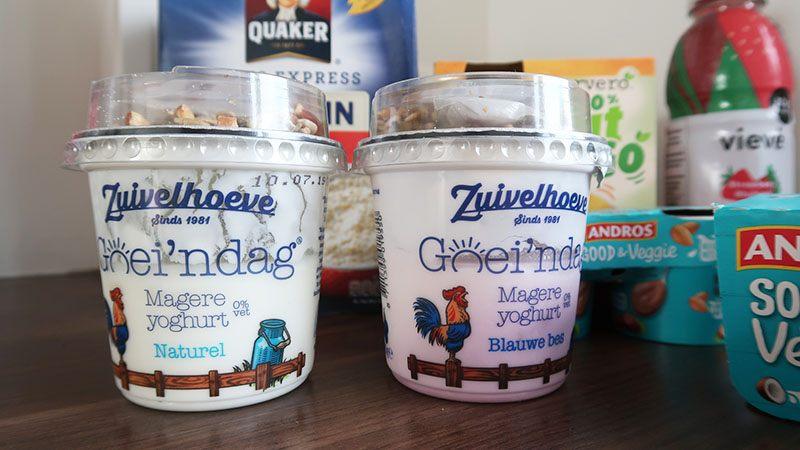 fit box zuivelhoeven goeie'ndag magere yoghurt
