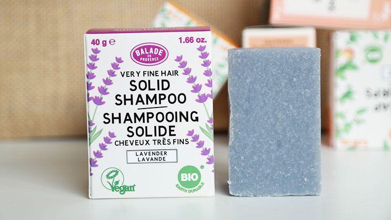 balade Delicate Solid Shampoo - fijn haar - lavendel