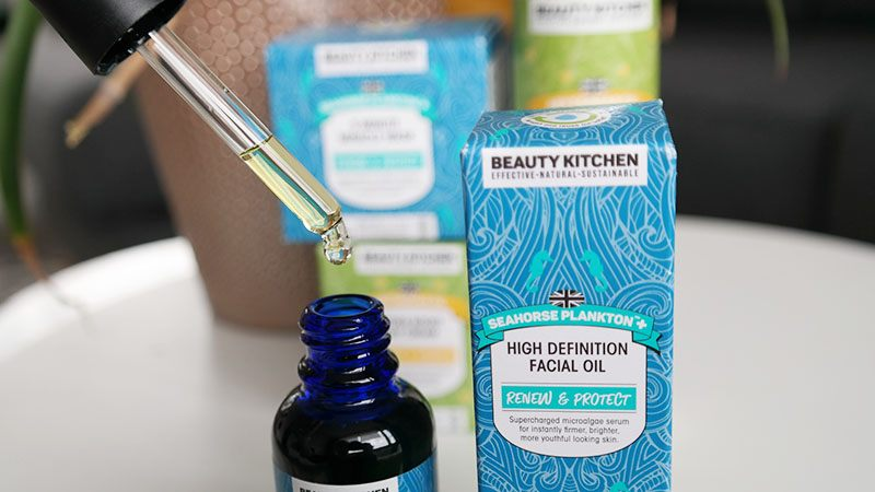 beauty kitchen facial oil