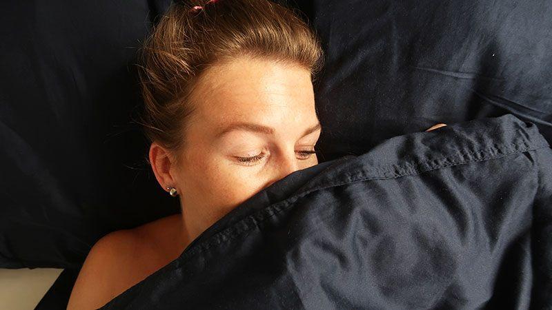 essenza dekbedovertrek in bed slapen
