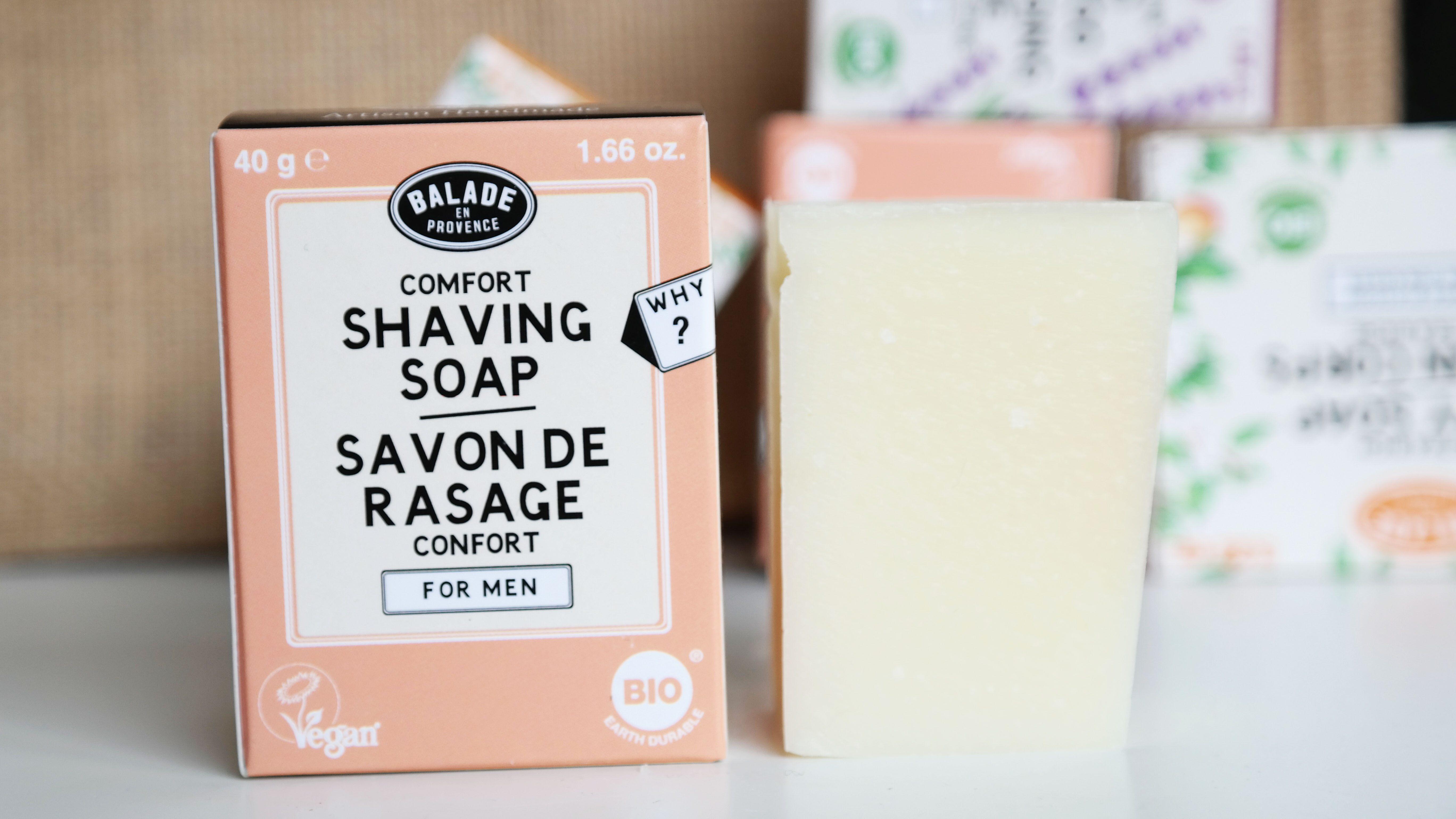 kalmerende shaving soap voor mannen -citrus
