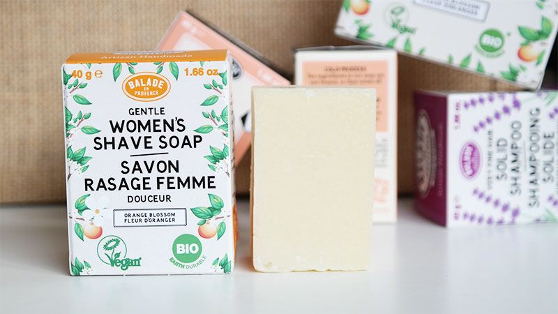 womans shaving soap beauty bar oranjebloesem