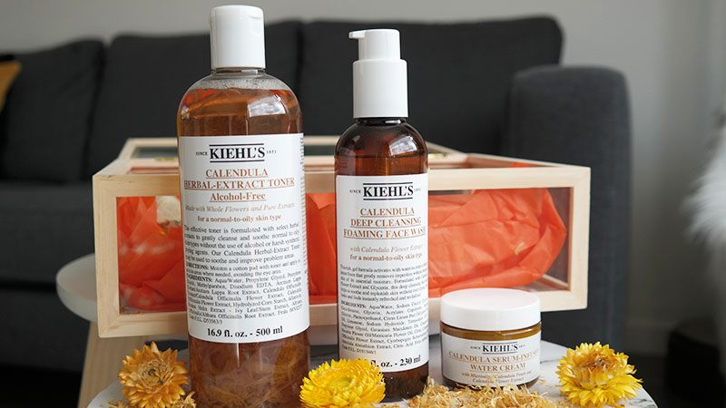 Kiehl's calendula review