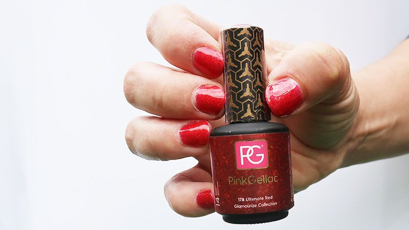 pink gellac ultimate red review