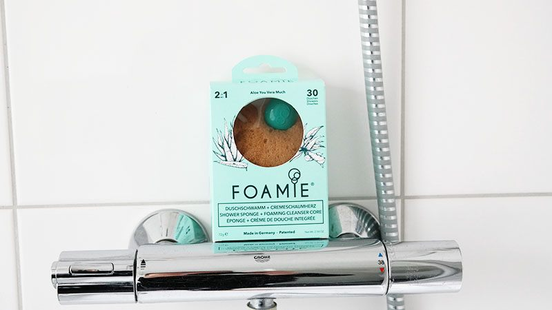 foamie shower sponge