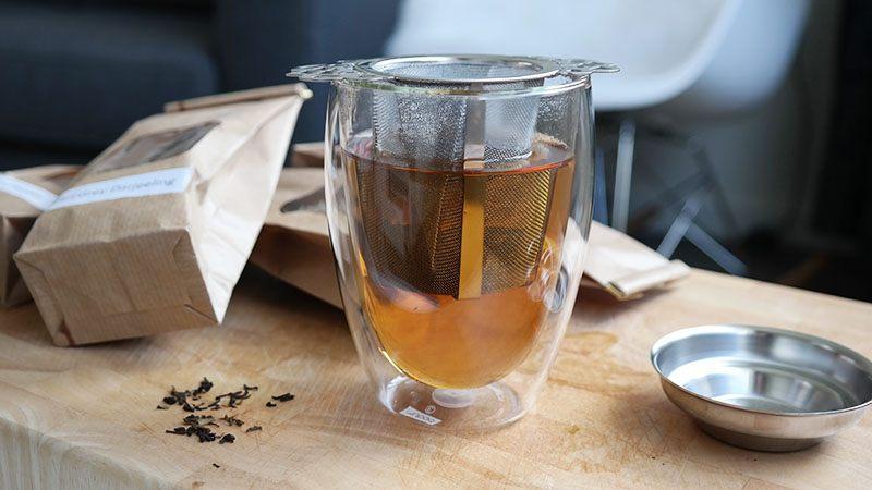 losse thee laten trekken
