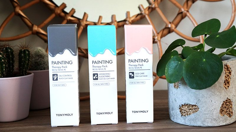 tony moly maskers painting therapy