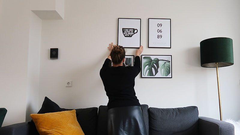 desenio posters ophangen