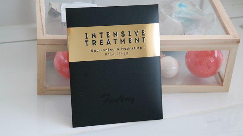 fanllory intensive treatment nourishing & hydrating sheetmask