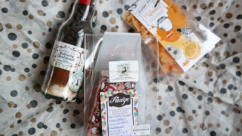 kerstpakket winnen chocolademelk hakhoning en fudge