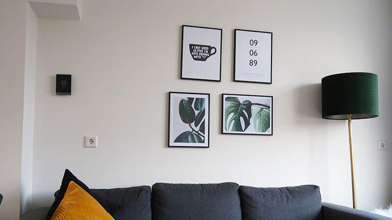 moderne wanddecoratie