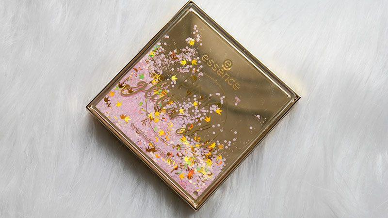 essence pink glitter show eyeshadow palette
