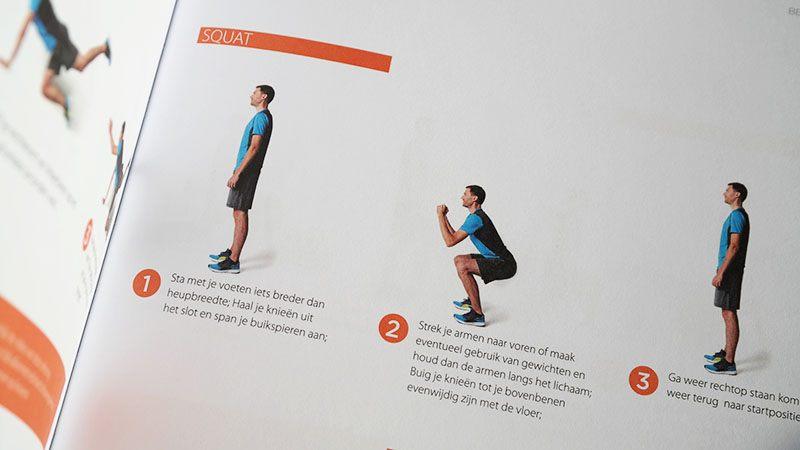 bewegen oefeningen gezond op gewicht