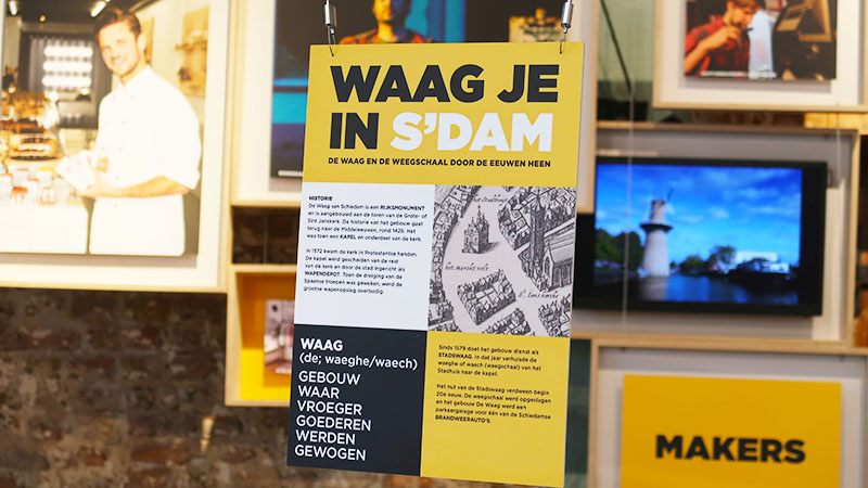waag je in sdam