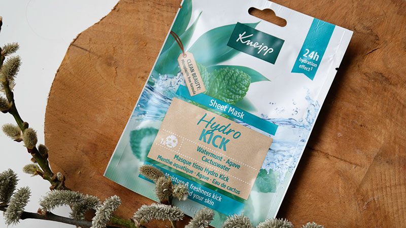 kneipp hydro kick sheet mask