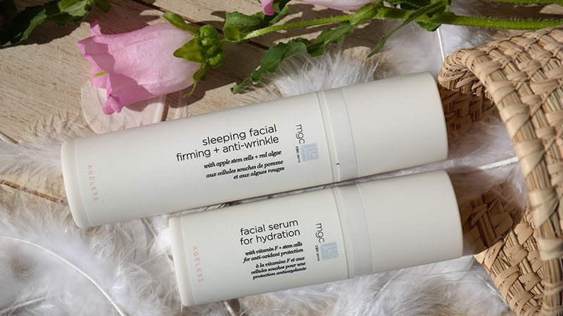mdg derma serum for hydration and sleeping facial