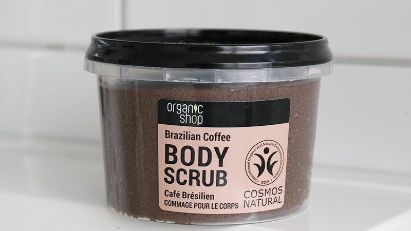 brazilian coffee body scrub
