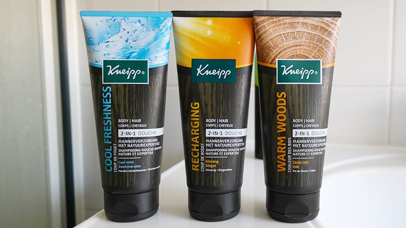 2-in-1 douche kneipp for men