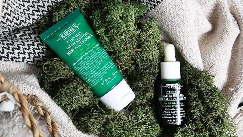 Kiehls Cannabis Sativa Seed Oil