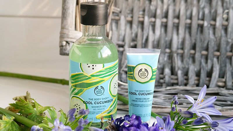 cool cucumber shower gel cool cucumber hand cream