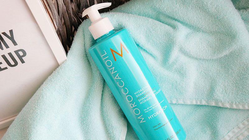 moroccanoil shampoo hydrating