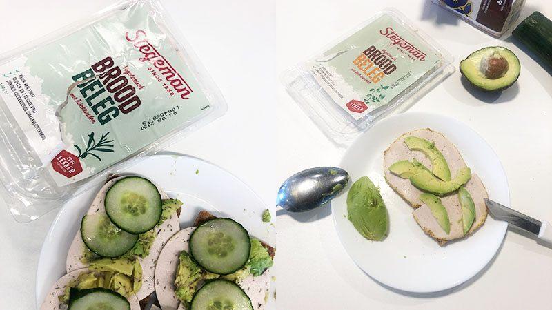 stegeman vegetarisch broodbeleg fitbox 2020