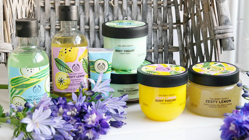 the body shop stay cool zesty lemon cool cucumber