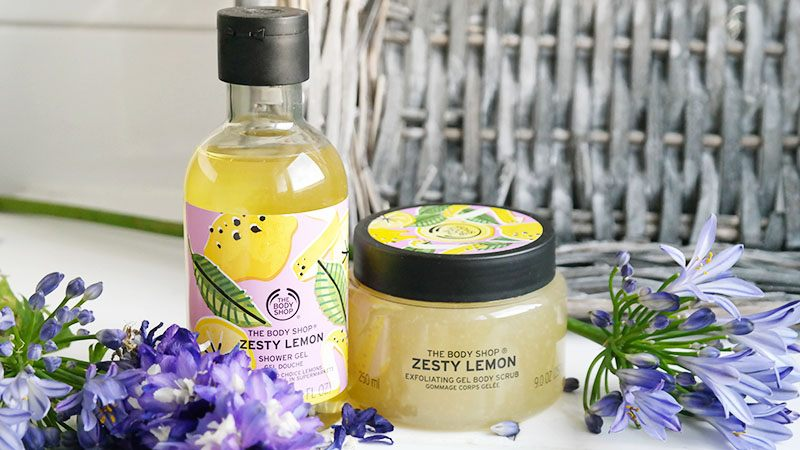 zesty lemon body scrub zesty lemon body yoghurt