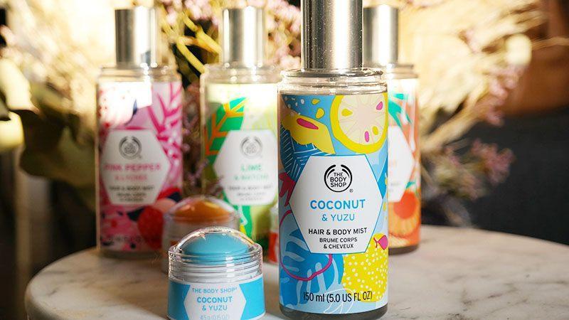 coconuts yuzu body mist parfumbalsem