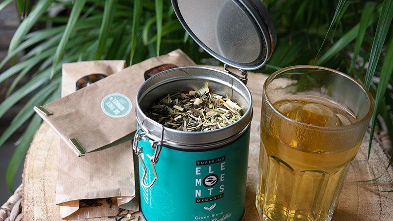 elements groene thee gember citroen losse thee