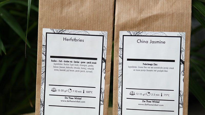herfstbries thee china jasmine thee