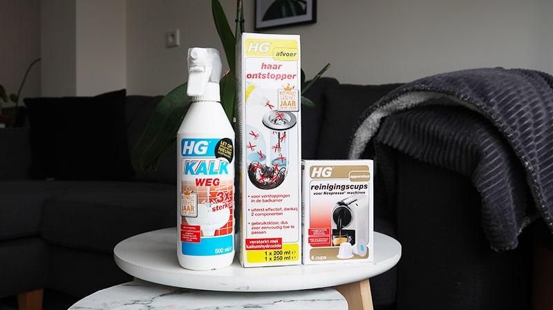HG schoonmaakmiddelen