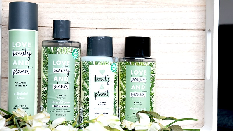 Love beauty and Planet Rosemary Vetiver review