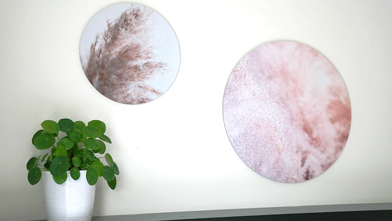 moderne muurdecoratie
