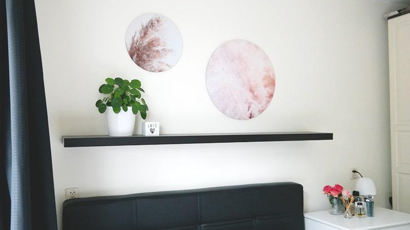 ronde muurdecoratie