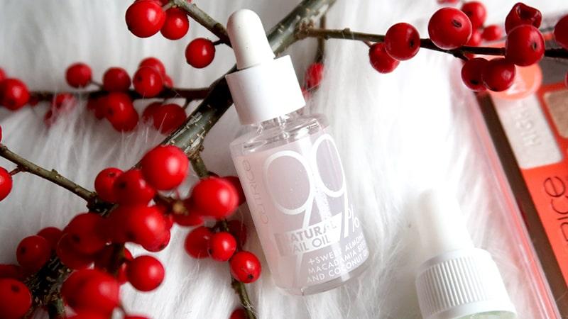 natural nail oil