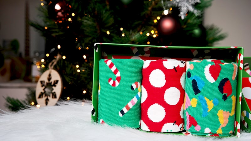 happysocks kerstcadeau vriend