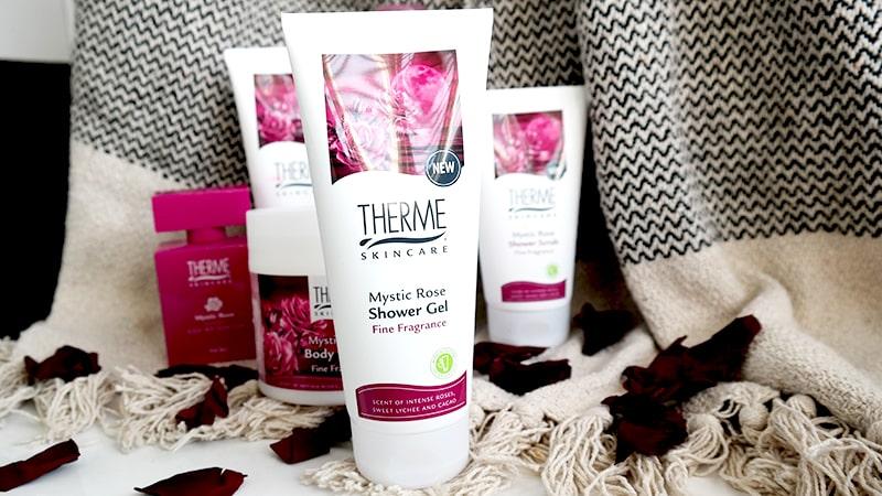 mystic rose shower gel