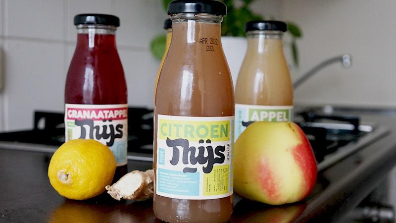 citroen gember sap thijs biologische dranken