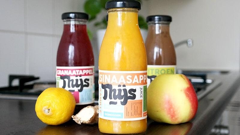 gezonde sappen thijs sinaasappel kamille
