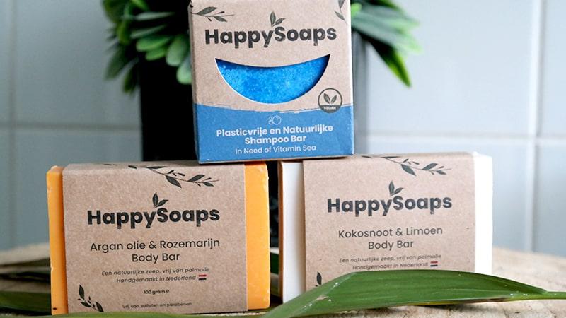 palmolie vrije shampoo body bar happysoaps review