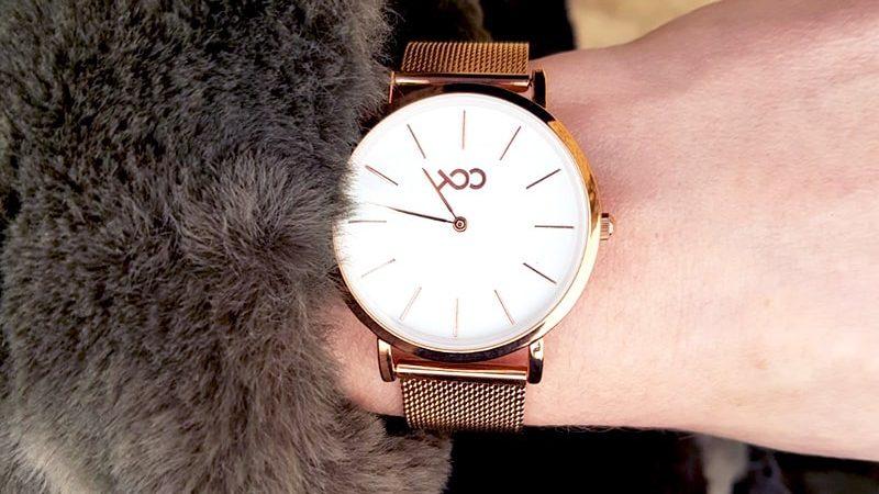 rose gouden horloge xoo